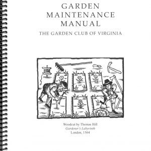 GARDEN MAINTENANCE MANUAL